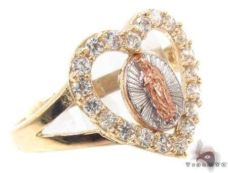 CZ 10K Gold Ring 33629 Anniversary/Fashion