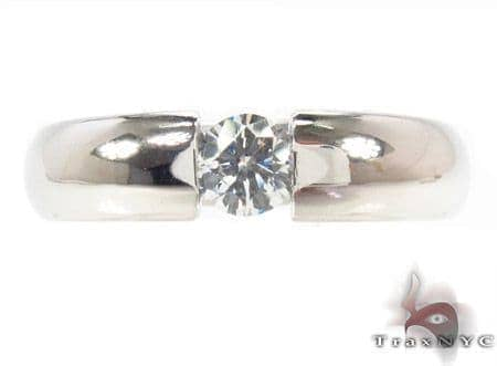 Channel Diamond Ring 33726 Style