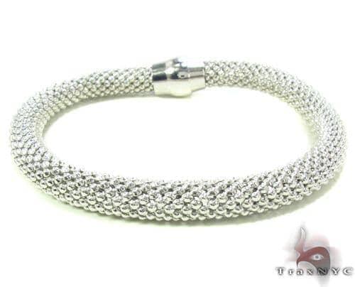 Silver Bracelet 34096 Silver & Stainless Steel