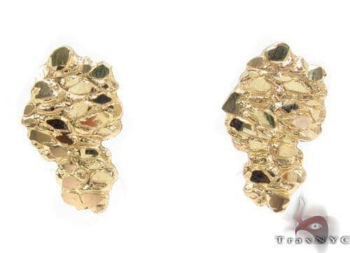 10K Gold Earrings 34185 Metal