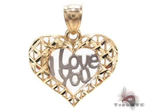 10k Two Tone Gold Charm 34277 Metal