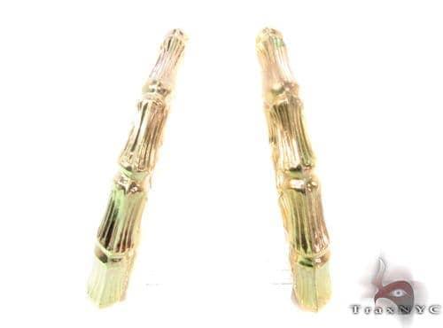 10K Gold Hoop Earrings 34292 Metal