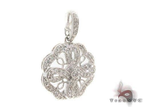 Prong Diamond Pendant 34511 Stone