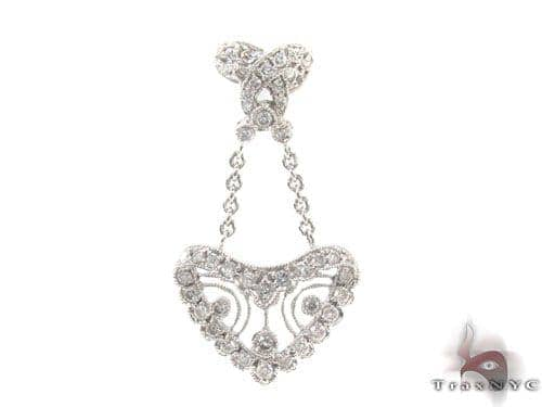 Prong Diamond Heart Pendant 34514 Style