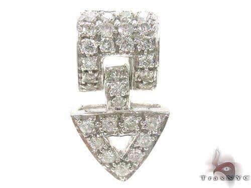 Prong Diamond Pendant 34662 Stone