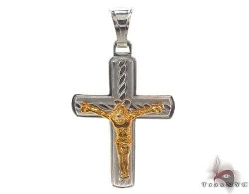 Silver Cross Crucifix 34681 Silver