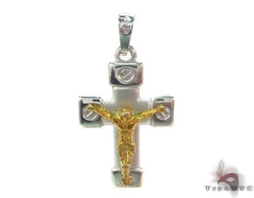 Silver Cross Crucifix 34684 Silver