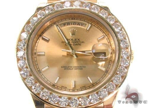 Rolex Day-Date II President Yellow Gold 218238 34717