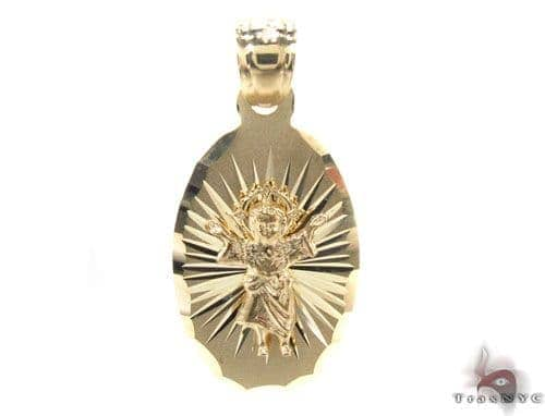 10K Gold Pendant 34767 Metal