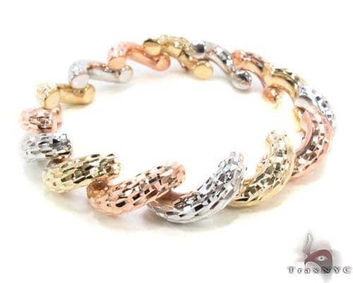 14K Multi-Color Bracelet 34949 Gold