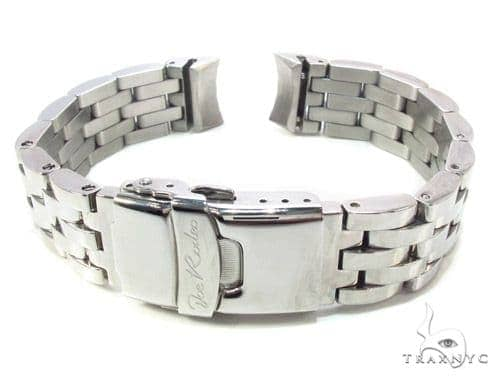 Joe Rodeo White Stainless Steel Band 16mm Watch Accessories
