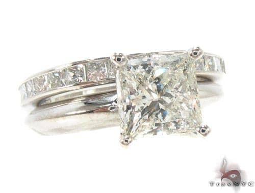 Invisible Diamond Wedding Ring 35226 Engagement