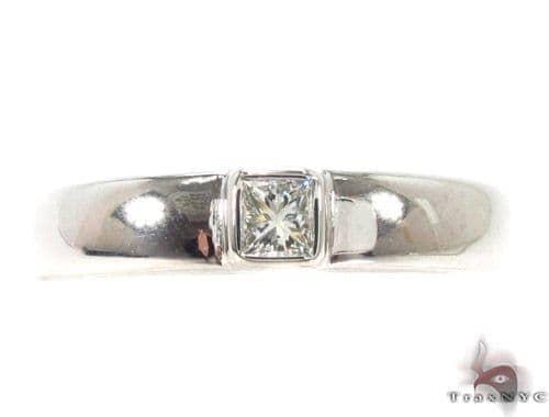 Bezel Diamond Ring 35253 Style