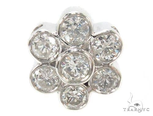 Bezel Diamond Pendant 25261 Stone