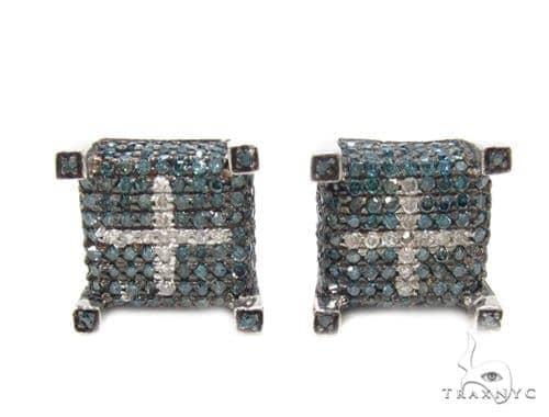 Prong Diamond Earrings 35291 Stone