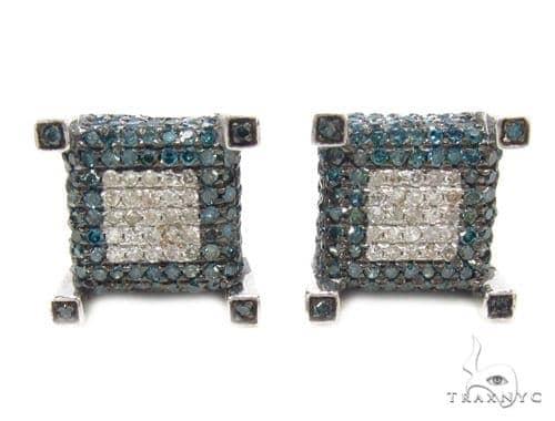Prong Diamond Earrings 35292 Stone