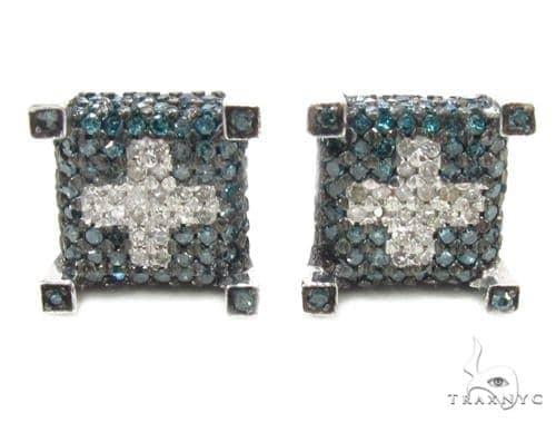 Prong Diamond Earrings 35300 Stone
