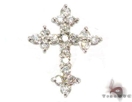 Ladies Tiny Enchanted Cross Crucifix Featured Crosses