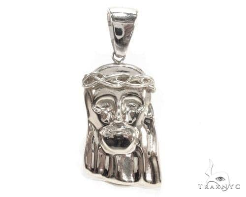 Jesus Silver Pendant 35559 Metal