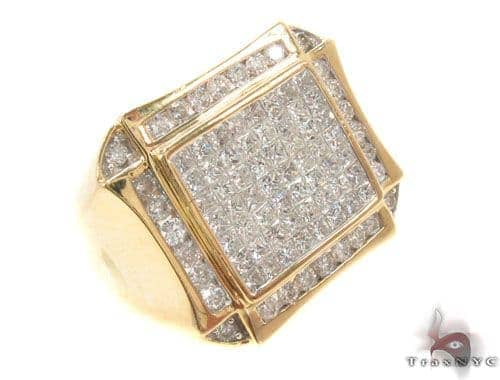 Invisible Diamond Ring 35566 Stone