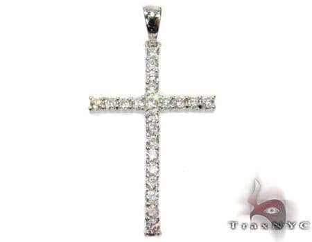 Round Cut Cross Crucifix 3 Style