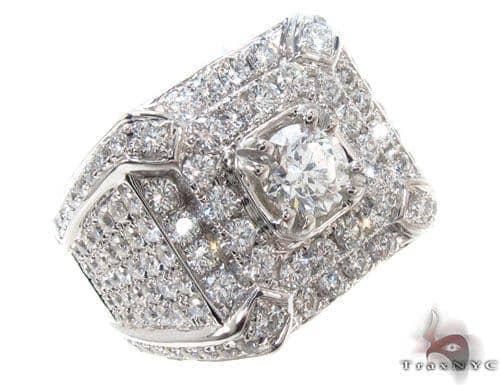 Prong Diamond Ring 35661 Stone