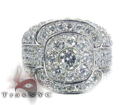 Bezel Solitaire Trickle Ring Stone