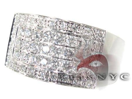 Mens Diamond Pinky Ring Stone