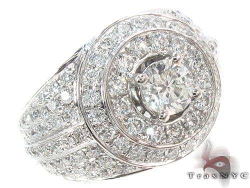 Prong Diamond Ring 35671 Stone