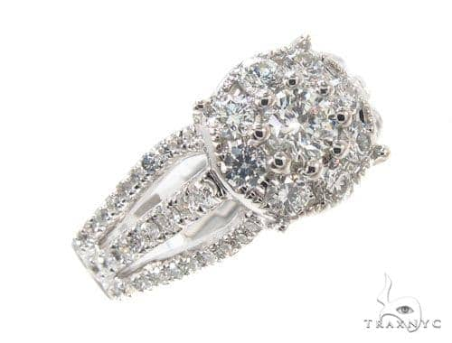 Prong Diamond Ring 35583 Anniversary/Fashion