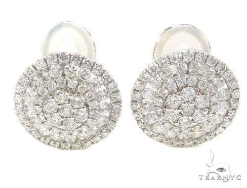 Prong Diamond Earrings 35919 Stone