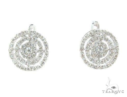 Prong Diamond Earrings 35930 Stone