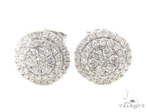 Prong Diamond Earrings 35929 Stone