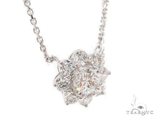 18K Gold Diamond Necklace 35950 Diamond