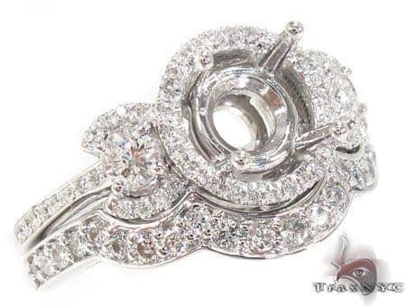 Prong Diamond Semi Mount Ring Engagement