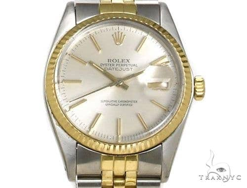 Rolex Datejust Steel & Yellow Gold V16233chsj Diamond Rolex Watch Collection