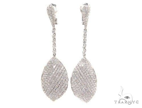 Bay leaf Diamond Chandelier Earrings 36100 Style