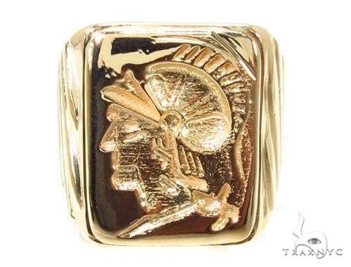 Mens Custom Jewelry Gladiator Ring 36248 Metal