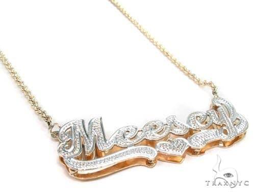 Custom Jewlery - Name Necklace Gold