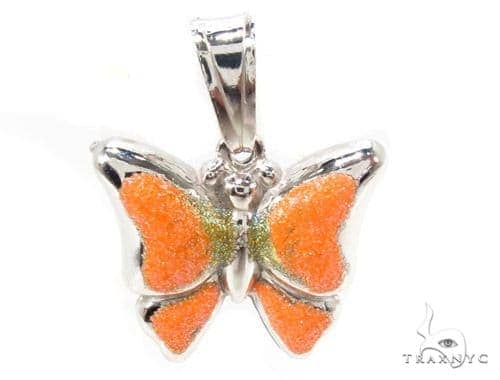 Butterfly Silver Pendant 36350 Metal