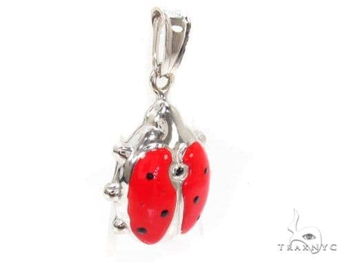 Lady Bug Silver Pendant 36362 Metal