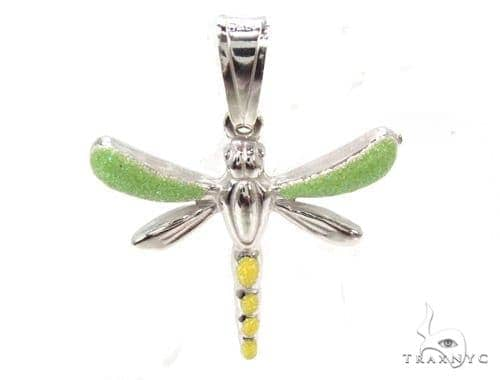 Dragonfly Silver Pendant 36365 Metal