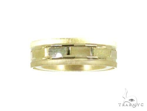 Solid Yellow Gold Band 2 Style