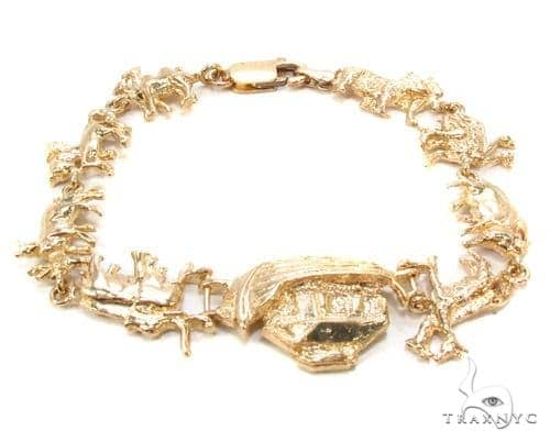 10k Gold Bracelet 36425 Gold