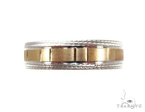 Two Tone Rectangle Band Style