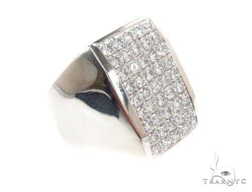 Mens Micropave Diamond Ring 36641 Stone