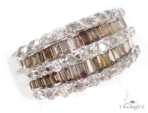 Champagne Prong Diamond Ring Wedding