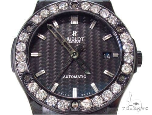 Classic Fusion Black Magic Hublot Diamond Watch 36729 Hublot