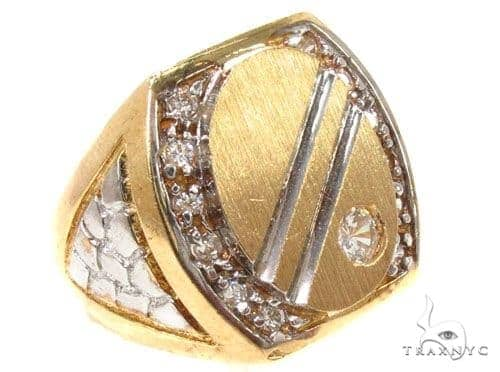 CZ 10K Gold Ring 36801 Metal