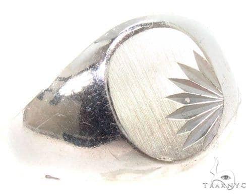 Silver Ring 36818 Metal